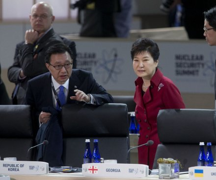 South Korean opposition parties agree on motion to impeach President Park Geun-hye