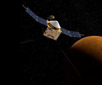 MAVEN space probe to reach Mars this weekend