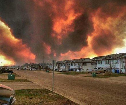 Alberta oil facilities remain under fire threat