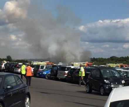 Reports: Osama bin Laden's family members die in England plane crash