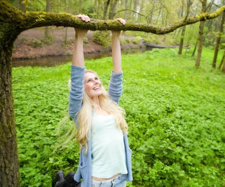 Climbing trees can help cognitive skills