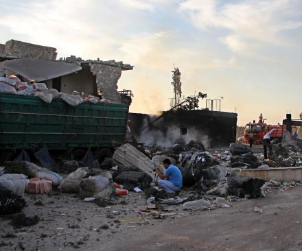 Two hospitals bombed in eastern Aleppo, Syria