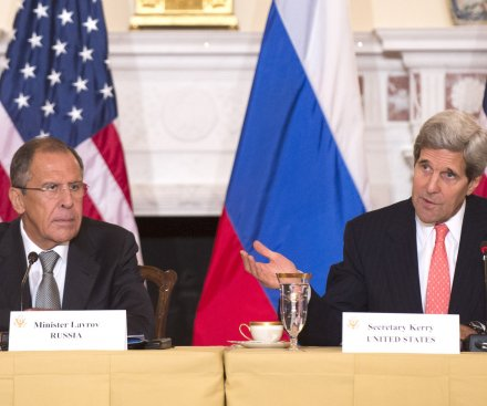 Kerry and Lavrov settling 'technical issues' on new Syria agreement