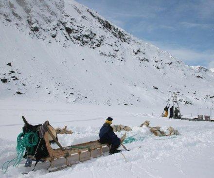 Greenland glaciers receding