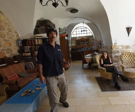 Jerusalem family finds ancient ritual bath under home