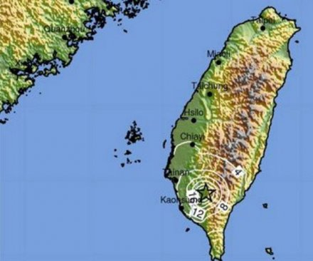 Taiwan rattled by another strong earthquake, building collapse reported
