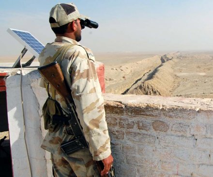 Security trench along Pakistan-Afghanistan border nearly complete