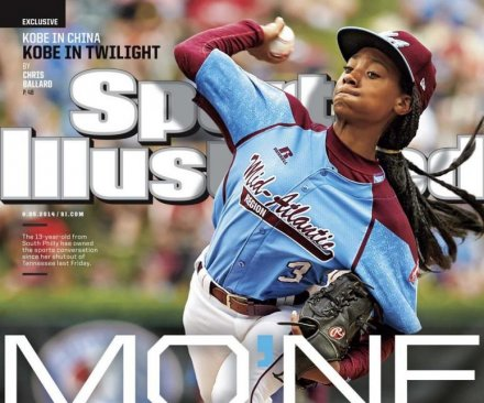 Mo'ne Davis becomes first Little League player to make cover of Sports Illustrated