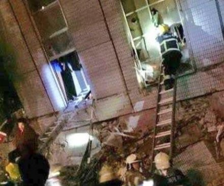 Taiwan rocked by powerful earthquake; many reported trapped after buildings collapse