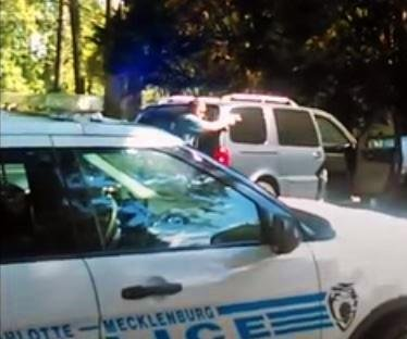 Cellphone video shows Charlotte police, wife shouting at Keith Scott before gunshots