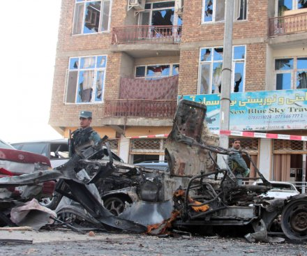 Taliban claims responsibility for double suicide attacks in response to U.S.-Afghan security agreement