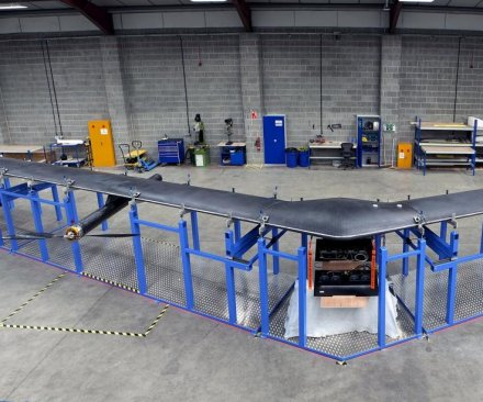 Facebook builds drone to deliver the Internet