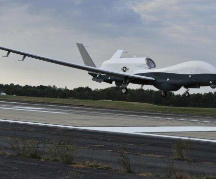 Navy's Triton surveillance drone flies cross-country