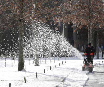 Third winter storm in 5 days bringing snow across Northeast