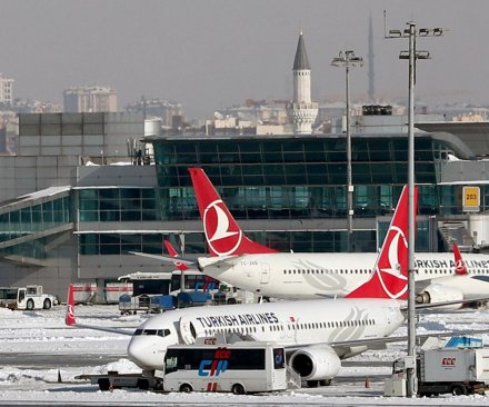 At least 30 killed in Turkish Airlines crash in Kyrgyzstan