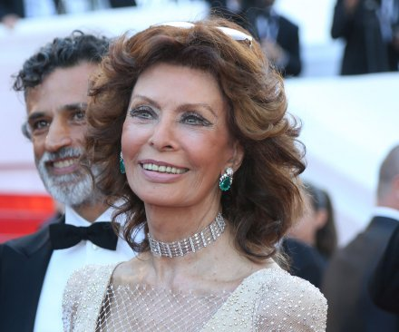 Sophia Loren celebrates 80th birthday