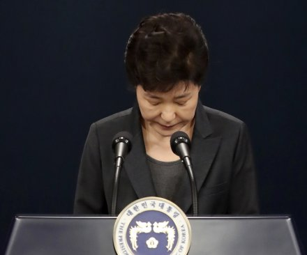 South Korea's parliament votes to impeach President Park Geun-hye