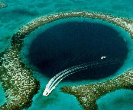 Belize blue hole helps explain collapse of ancient Mayan civilization