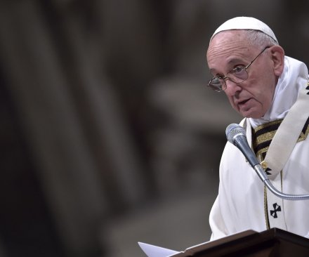 Pope says church should apologize to gays and marginalized people