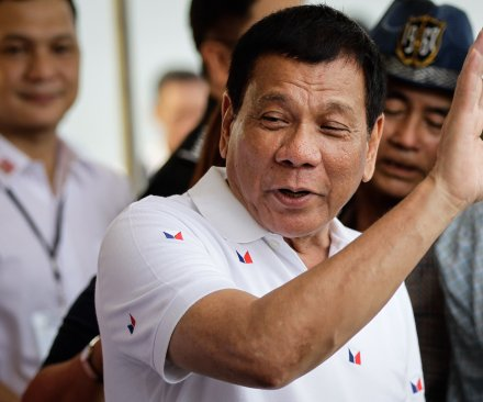 Philippine President Rodrigo Duterte said Donald Trump lauded his antidrug campaign