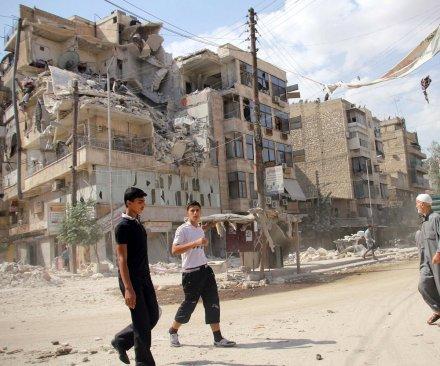 Aleppo's Old City captured by Assad regime following rebel retreat