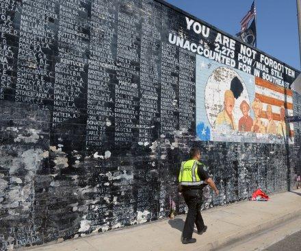Los Angeles Vietnam veteran's memorial vandalized