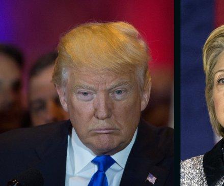 UPI/CVoter poll: Donald Trump maintains slim lead over Hillary Clinton