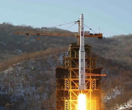 North Korea heightening security at satellite launch pad