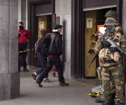 Brothers arrested on suspicion of plotting terror attack in Belgium
