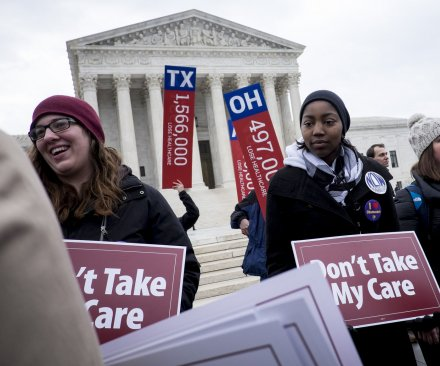 Supreme Court battles over health care subsidies