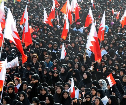 Bahrain executes via firing squad three men accused of bombing