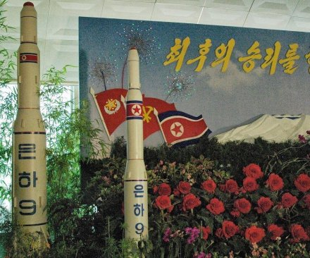Satellite imagery shows North Korea readying for rocket launch