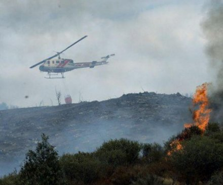1,000-acre fire in Southern California forces hundreds of evacuations
