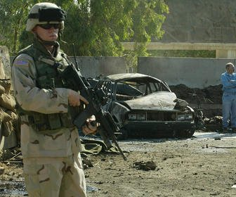 Iraq's Green Zone opens after suicide blasts kill 18