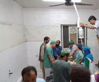 At least 20 medical aid workers killed, hospital bombed after U.S. airstrike
