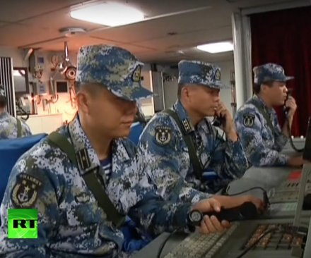 China, Russia announce joint military drills in contested South China Sea