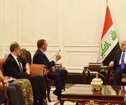 U.S. Defense Secretary Ashton Carter in Baghdad in unannounced visit