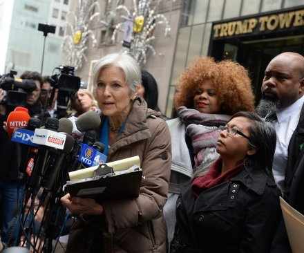Michigan GOP appeals recount order; Stein rallies at Trump HQ in NYC