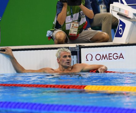 Brazilian police charge U.S. swimmer Ryan Lochte for exaggerated robbery story