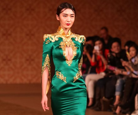 China Fashion Week opens with NE TIGER runway show
