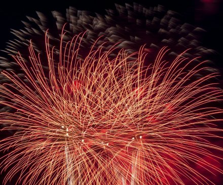 9 injured when fireworks explode in crowd