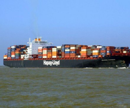 Container ship collision stalls Suez Canal traffic