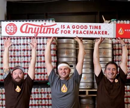 Anytime Pale Ale sold by the 99 pack