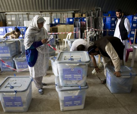 U.N. recommits to Afghan vote audit despite campaign withdrawals