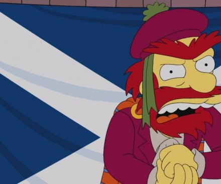 Watch: Groundskeeper Willie urges fellow Scots to vote 'aye or die' for Scottish independence