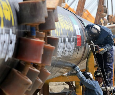 China starts work on Russian gas pipeline