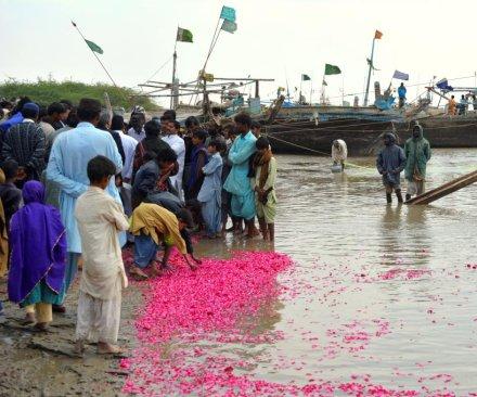 Encroaching sea levels endanger Pakistan's Indus Delta