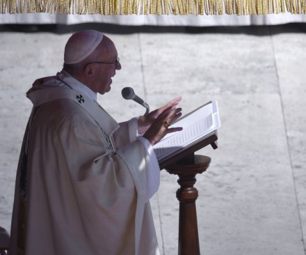 Georgian Orthodox Church leaders snub Pope Francis visit