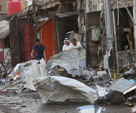 Iraq: More than 60 people killed in wave of car bomb attacks