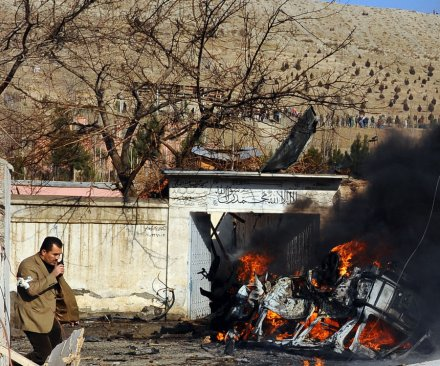 Afghan suicide bomber kills at least 40 people
